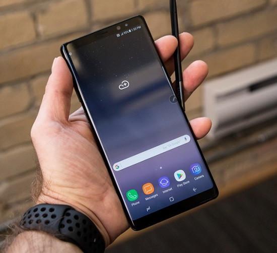 Nguyên nhân bị chai pin của Samsung Note 8