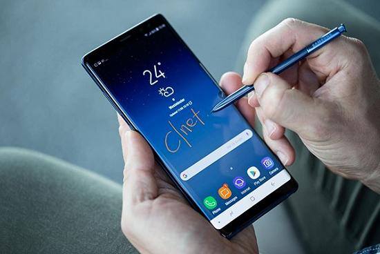 Note 8 có thể bị chai pin sau thời gian sử dụng lâu dài