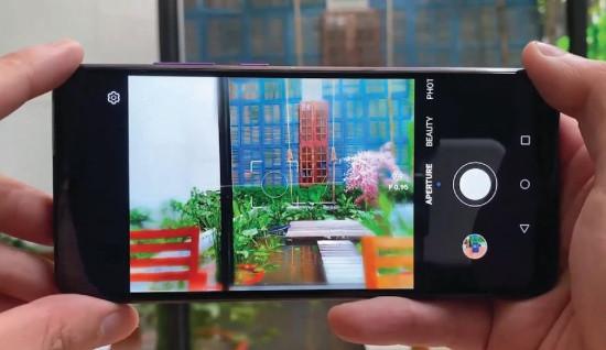 Camera sau Huawei Y6p