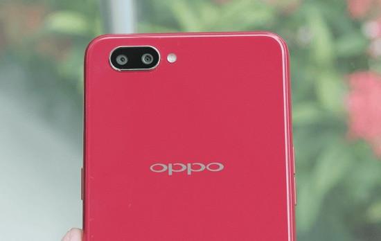 Camera sau Oppo A3s