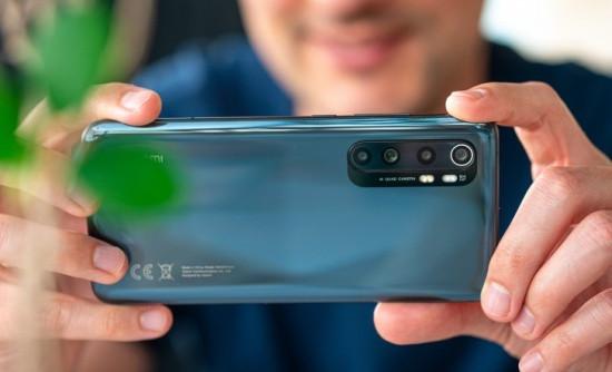Camera sau Xiaomi Mi Note 10 Lite