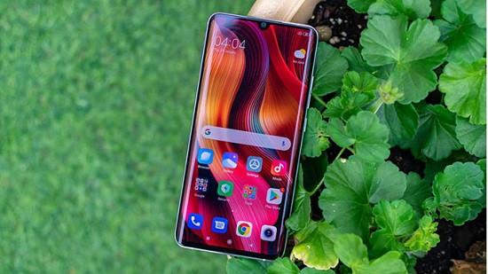 Dấu hiệu camera trước Xiaomi Mi Note 10 Pro bị hư hỏng