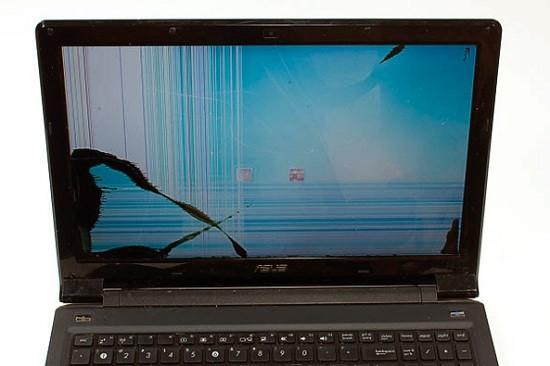 Dấu hiệu cho thấy màn hình laptop bị hư hỏng