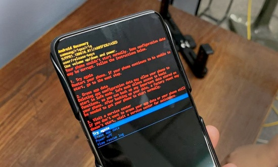 Khắc phục Samsung không vào được Recovery Mode