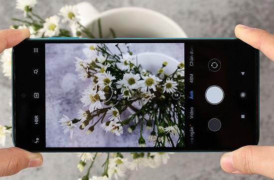 Không thể lấy nét ảnh khi camera sau Xiaomi Redmi Note 9S bị hư