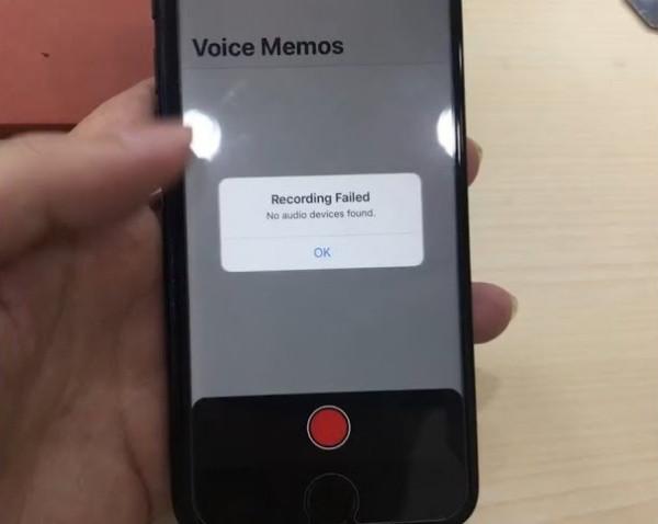 Lỗi không tìm thấy thiết bị âm thanh iPhone
