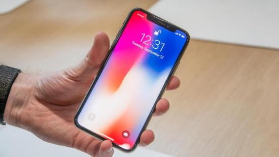 Lỗi màn hình iPhone X bị sọc xanh