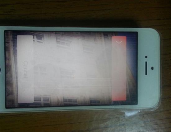 Màn hình iPhone 5s bị hư