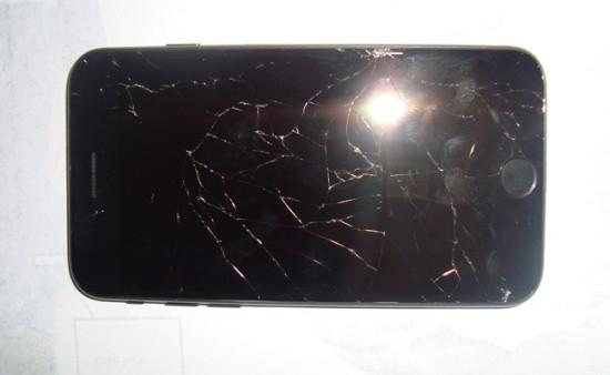 Màn hình iPhone 7 bị bể