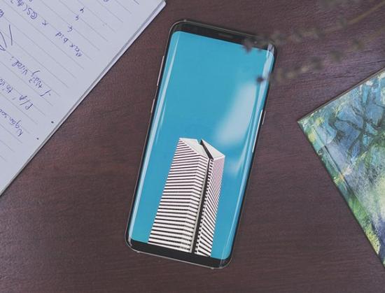 Màn hình Samsung S8 Plus bị ám vàng