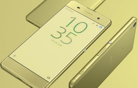 Màn hình Sony XA bị ám vàng