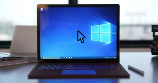 Mất con trỏ chuột trên màn hình laptop
