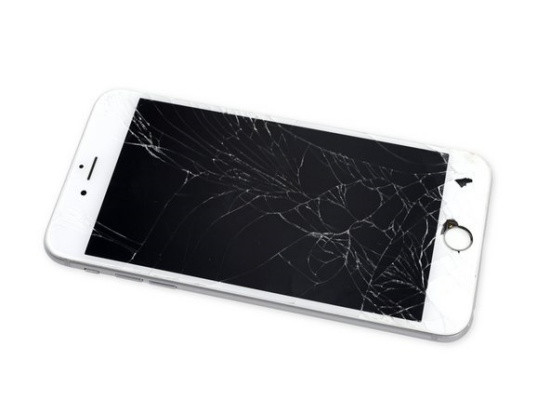 Mặt kính iPhone 6s Plus bị bể
