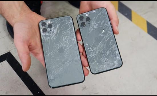 Mặt kính sau iPhone 11 Pro bị nức bể