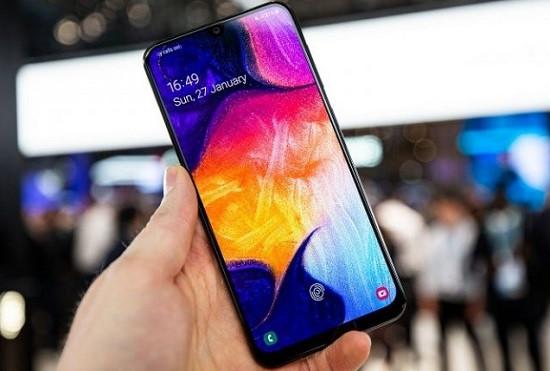 Samsung A50 đen màn hình