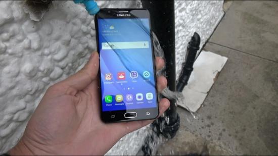 Samsung J7 Prime báo nhiệt độ pin quá cao