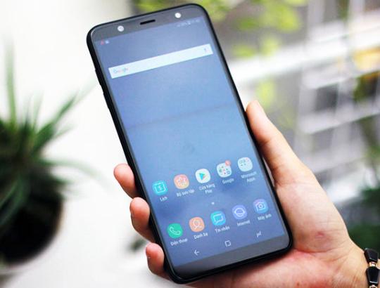 Samsung J8 bể màn hình và giải pháp