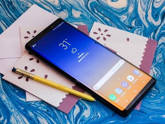 Samsung Note 9 bị nóng máy