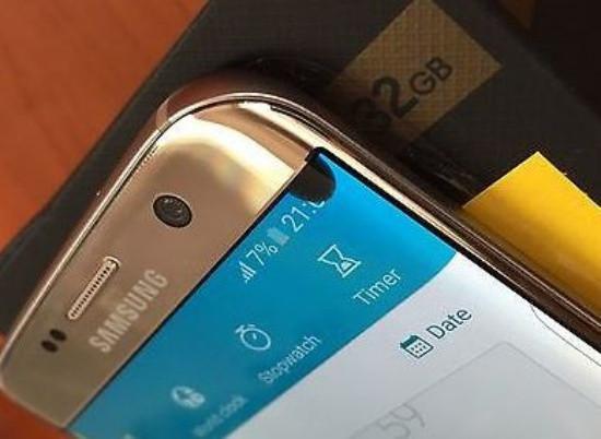 Samsung S7 Edge bị chấm đen