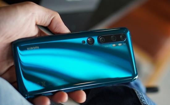 Camera sau Xiaomi Mi Note 10 Pro bị hư hỏng