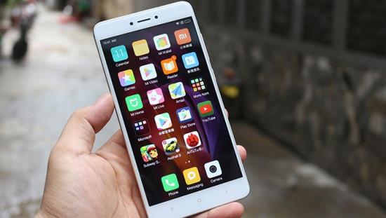 Xiaomi Redmi Note 4x bị mất sóng