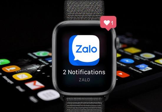 Apple Watch không thông báo cuộc gọi zalo