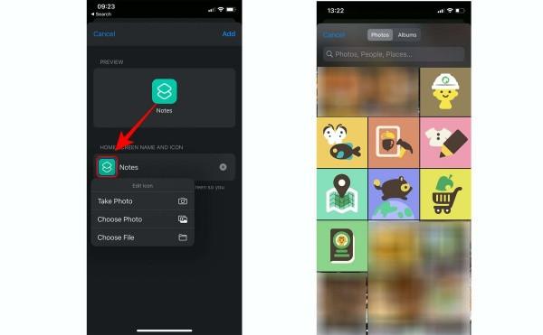 Bước 5: Đổi icon của ứng dụng