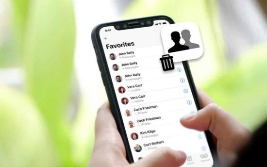 Danh bạ iPhone bị nhân đôi