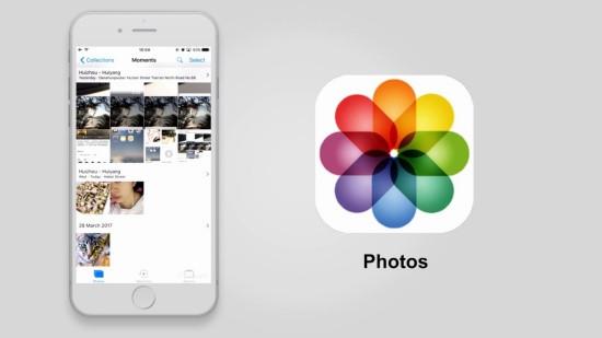 Hình ảnh trong điện thoại bị mất iPhone