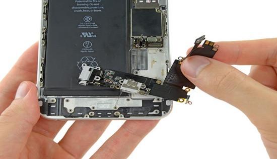 iPhone 6 Plus sạc không vào pin