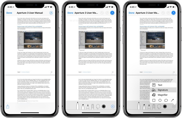 Khắc phục iPhone không đọc được file PDF