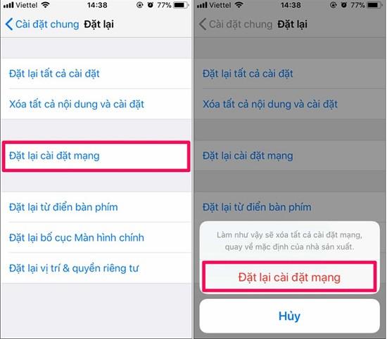 Khắc phục lỗi không kiểm tra được trung tâm tin nhắn iPhone