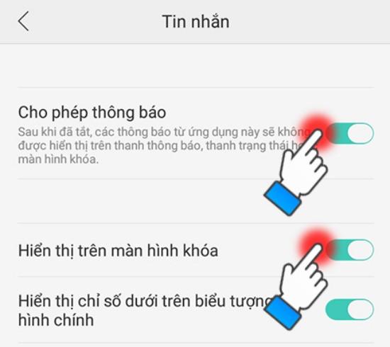 Khắc phục lỗi điện thoại không sáng màn hình khi có tin nhắn đến
