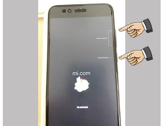 Khôi phục Xiaomi bằng phím cứng