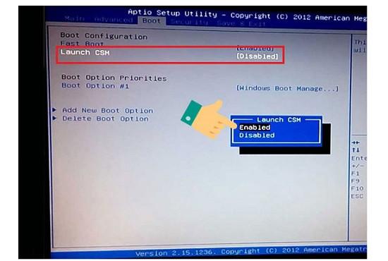 Lỗi laptop không nhận usb boot
