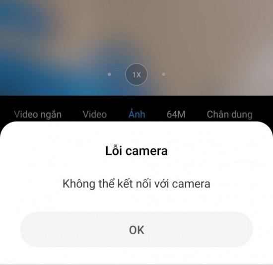 Lỗi không thể kết nối máy ảnh Xiaomi