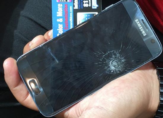 Mặt kính Samsung J5 Prime bị vỡ