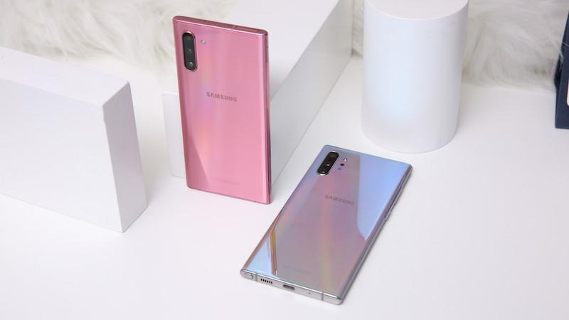 Nắp lưng Samsung Note 10 Plus