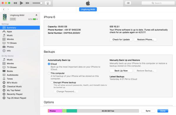 Restore iPhone có cần thoát iCloud không?