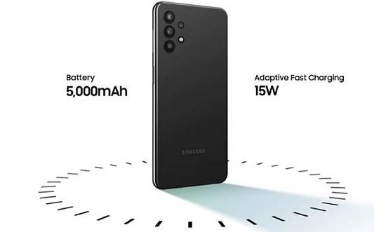 Samsung A32 sở hữu pin có dung lượng cực lớn
