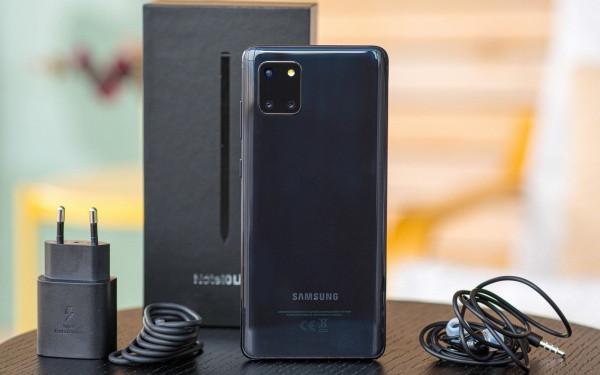 Samsung Noe 10 Lite sạc không vào pin
