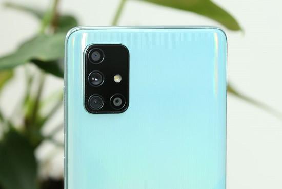 Thay kính camera Samsung A71 chất lượng cao