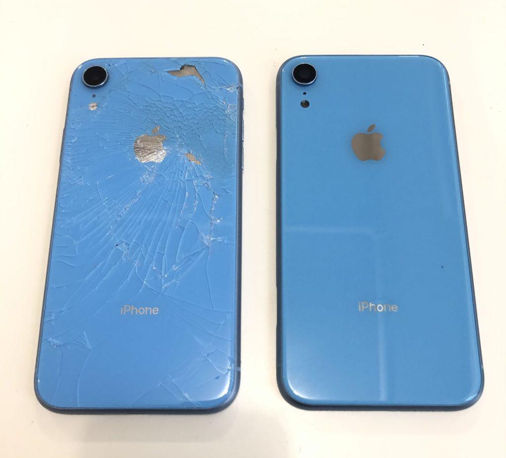 Thay mặt kính sau iPhone XR