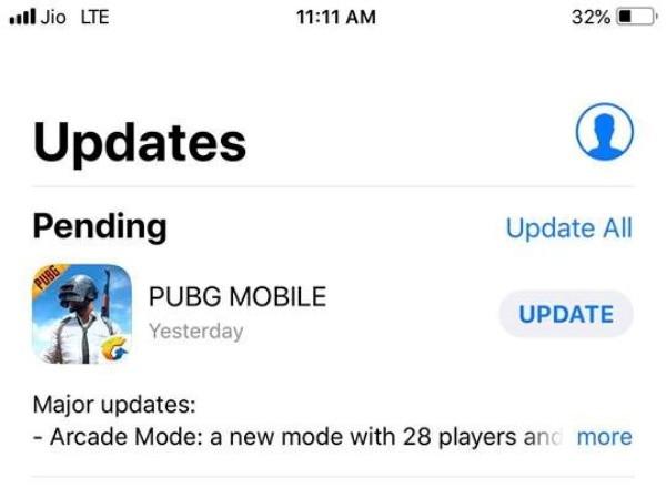 Bạn nên update phiên bản game mới nhất