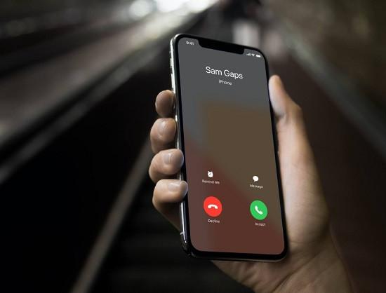 Cách báo cuộc gọi khi đang nghe điện thoại iPhone