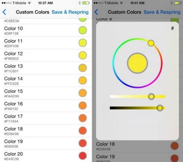Cách đổi màu pin trên iPhone