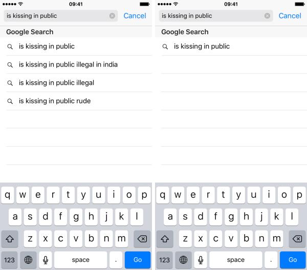 Cách xóa gợi ý tìm kiếm trên Safari