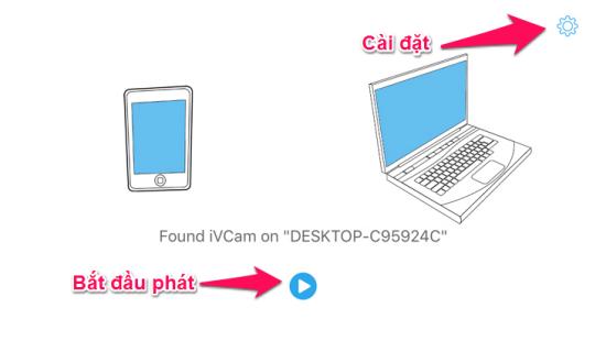 Cài đặt iVcam cho iPhone