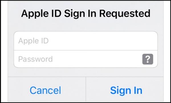 Đăng xuất và đăng nhập lại Apple ID