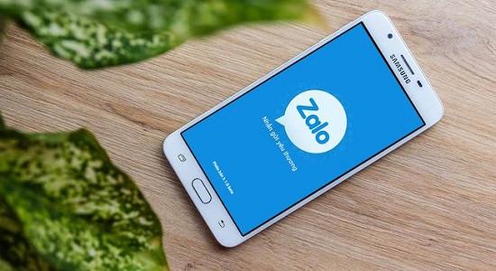 Danh bạ điện thoại Samsung chỉ hiện số Zalo
